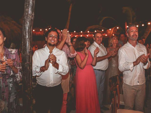 La boda de Juliano y Viviane en Tulum, Quintana Roo 212