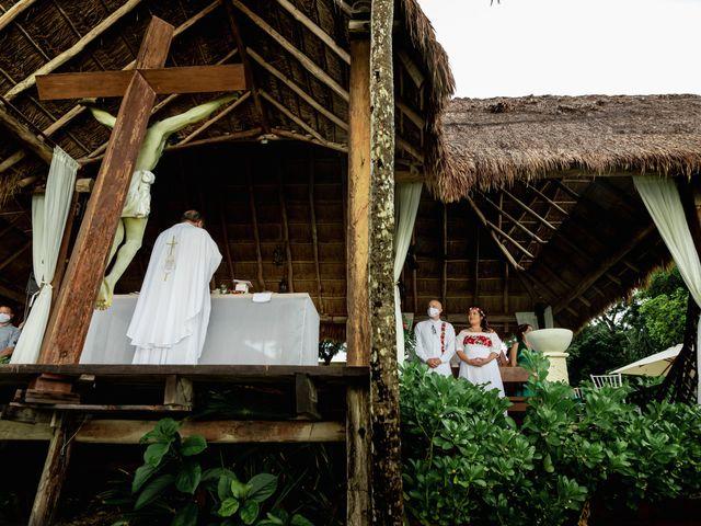La boda de Nick y Romy en Cozumel, Quintana Roo 6