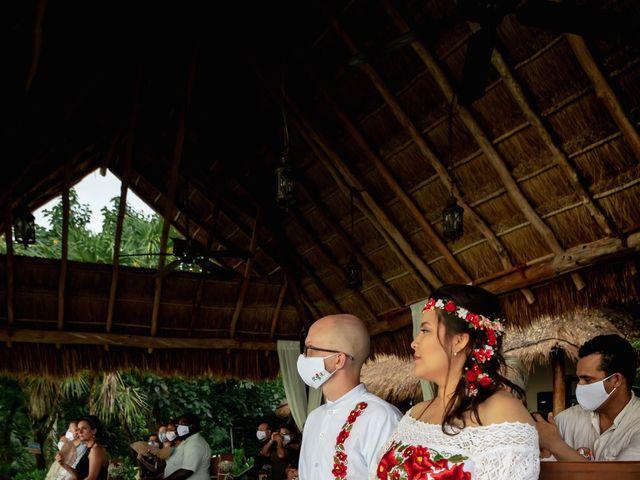 La boda de Nick y Romy en Cozumel, Quintana Roo 7