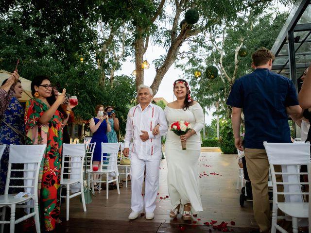 La boda de Nick y Romy en Cozumel, Quintana Roo 9
