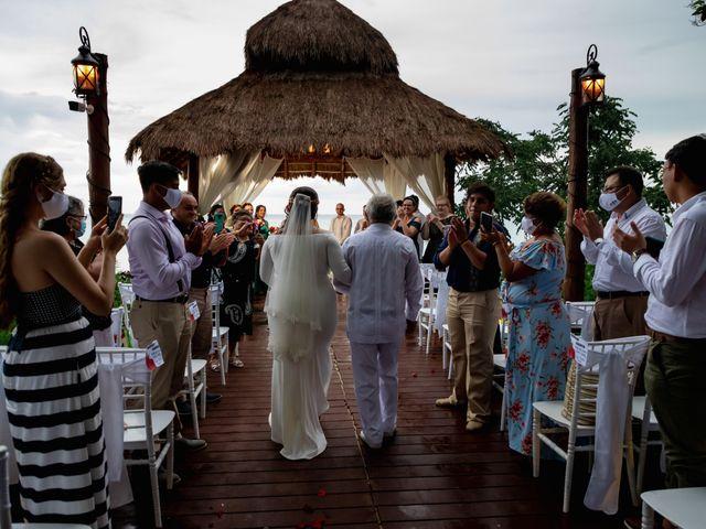 La boda de Nick y Romy en Cozumel, Quintana Roo 10