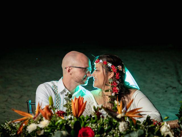 La boda de Nick y Romy en Cozumel, Quintana Roo 15