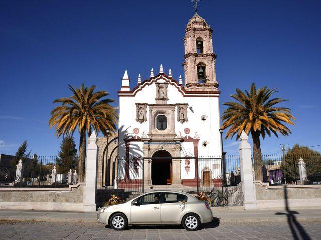 La boda de Valeria y Jorge en Pabellón de Arteaga, Aguascalientes 6