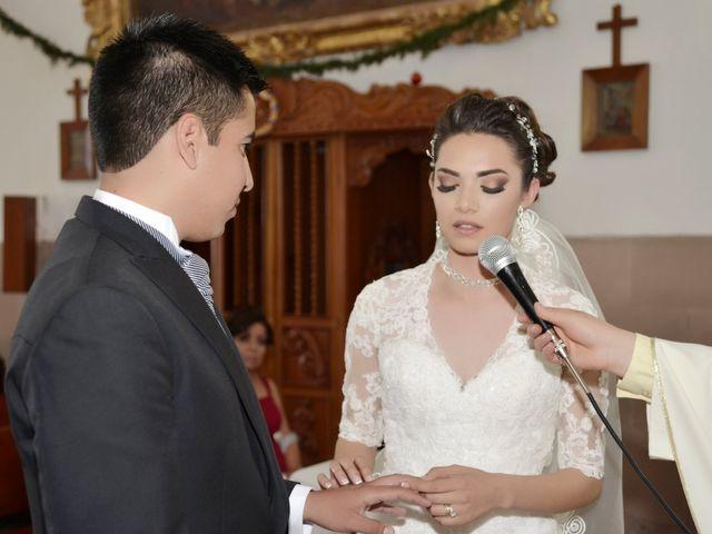 La boda de Valeria y Jorge en Pabellón de Arteaga, Aguascalientes 17