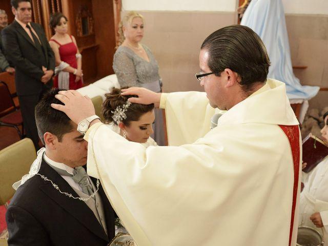 La boda de Valeria y Jorge en Pabellón de Arteaga, Aguascalientes 18