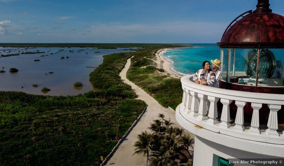 La boda de Nick y Romy en Cozumel, Quintana Roo