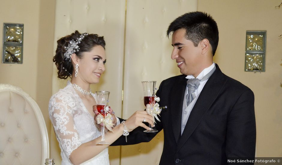 La boda de Valeria y Jorge en Pabellón de Arteaga, Aguascalientes