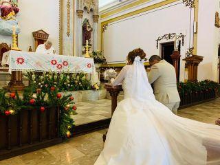 La boda de Kathya y Antonio