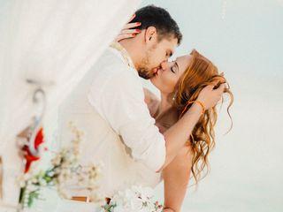 La boda de Kate y Gleb