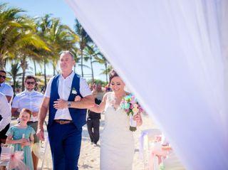 La boda de Laura y Stephen 1