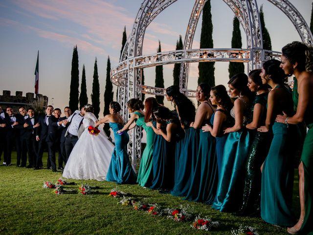 La boda de Germán y Carla en Guanajuato, Guanajuato 58