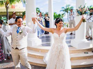 La boda de Veleyny y Luis