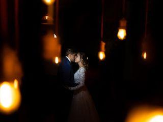 La boda de Danae y Abraham