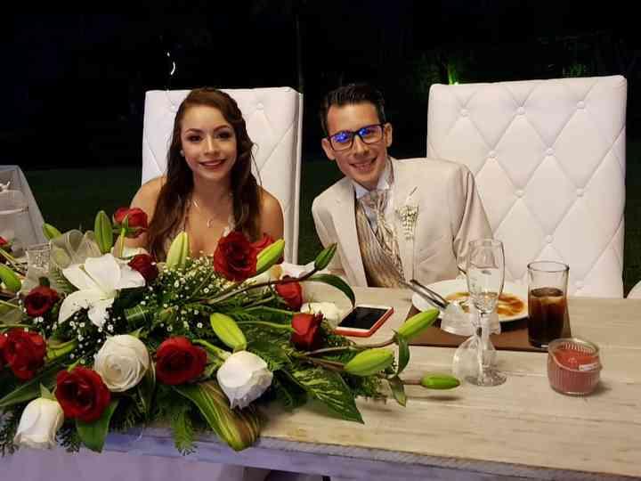 La boda de Joceline Ángeles  y Luis