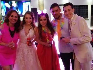La boda de Joceline Ángeles  y Luis  2