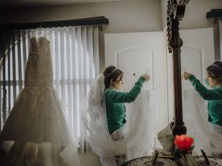 La boda de April y Rodrigo 1
