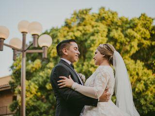 La boda de Clarisa y Luis
