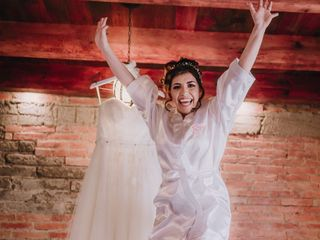 La boda de Rosalba Bustamante  y Miguel Saldaña 1