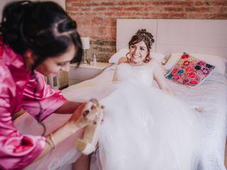 La boda de Rosalba Bustamante  y Miguel Saldaña 2