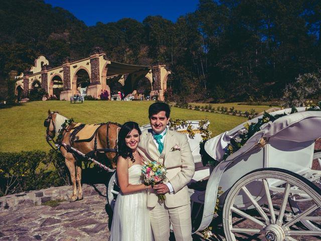 La boda de Lupita  y Víctor