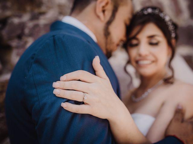 La boda de Rosalba Bustamante  y Miguel Saldaña