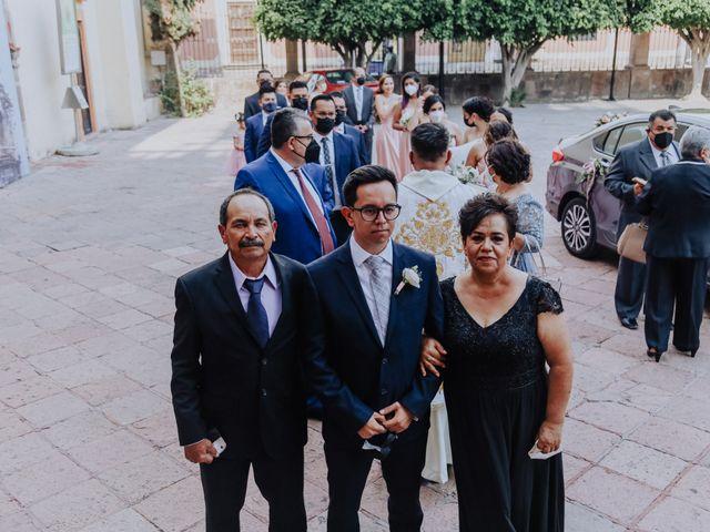 La boda de Daniel y Iliana en Celaya, Guanajuato 33