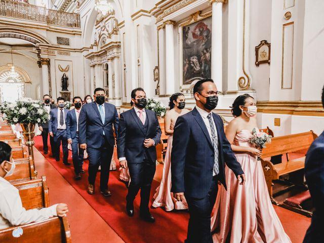 La boda de Daniel y Iliana en Celaya, Guanajuato 34