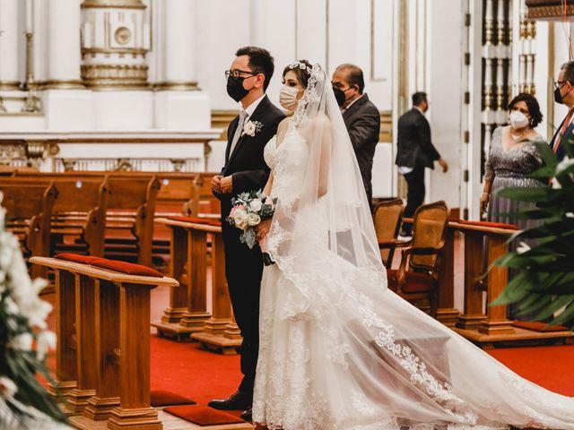 La boda de Daniel y Iliana en Celaya, Guanajuato 40