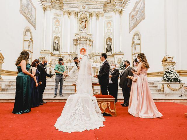 La boda de Daniel y Iliana en Celaya, Guanajuato 45