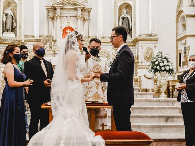 La boda de Daniel y Iliana en Celaya, Guanajuato 48