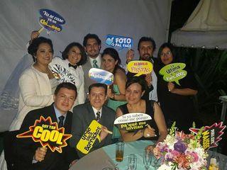 La boda de Tania  y Fátima 1