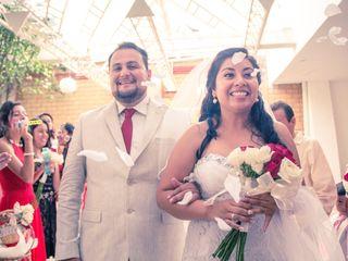 La boda de Enrique y Sadi