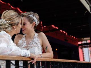 La boda de Miralda y Thalia