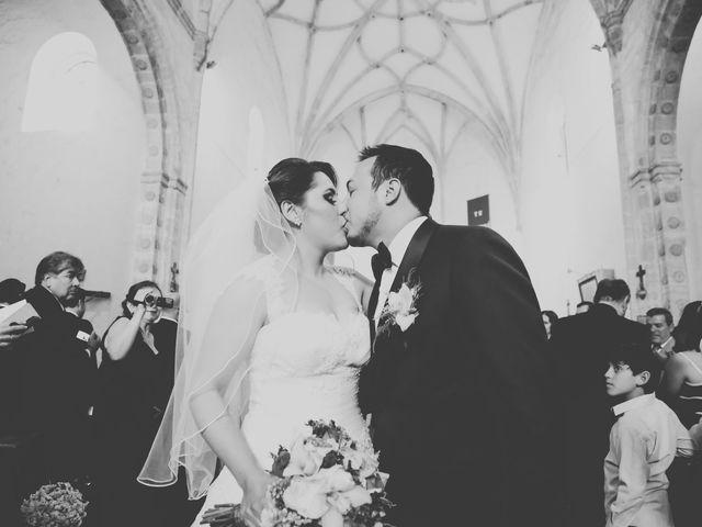 La boda de Alberto y Mitzy