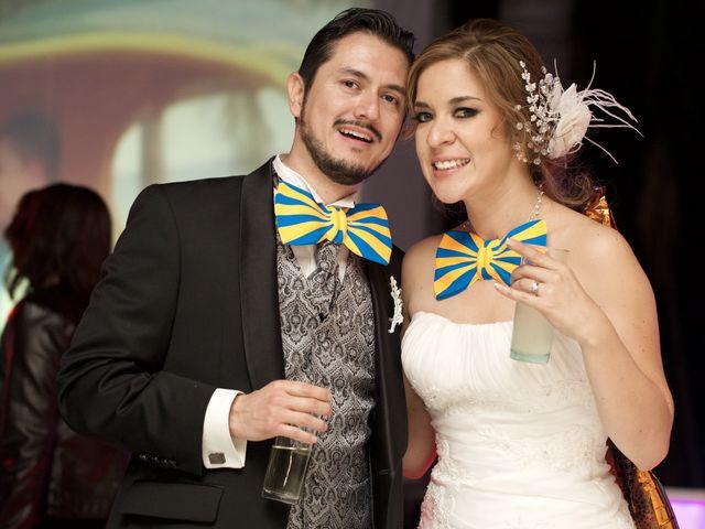 La boda de George y Anny