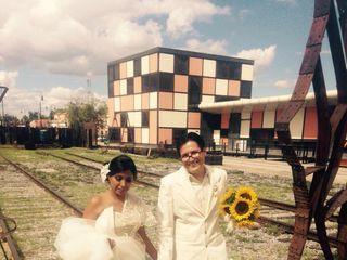 La boda de Karina  y Israel