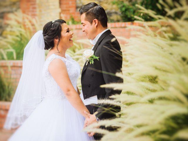 La boda de Alhelí y Rene