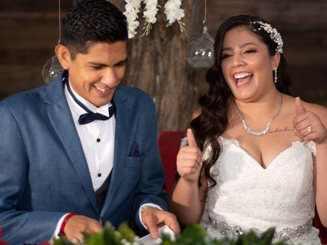 La boda de Tanhairi  y José  en Saltillo, Coahuila 2