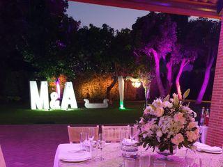La boda de Abiezer y Marsella  2