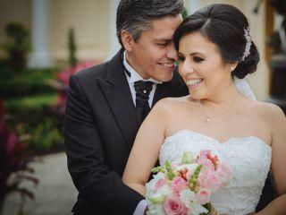 La boda de Gladys y Alejandro