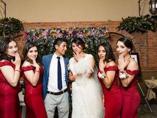 La boda de Estefanía  y Braulio  1
