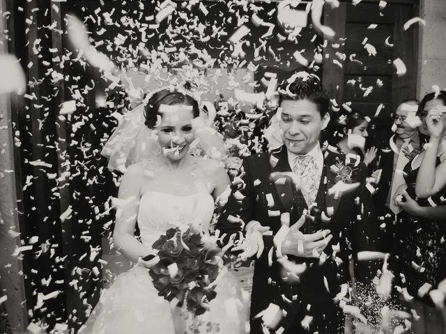 La boda de Aída y José Ángel