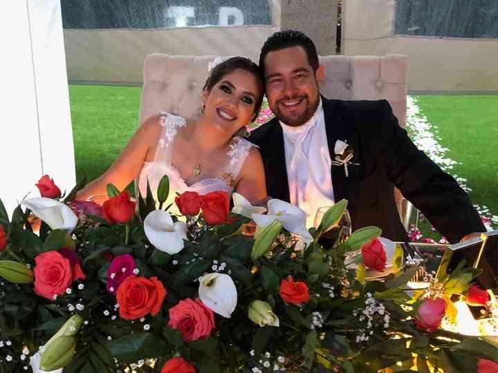 La boda de Tesa y Balde