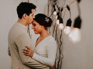 La boda de Abish y Sam