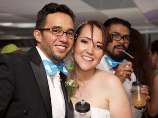La boda de Armin y Karen