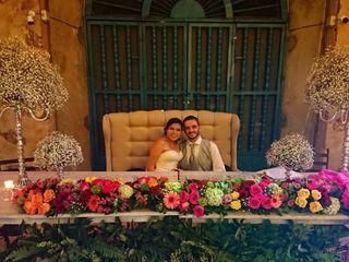 La boda de Melina y Toni