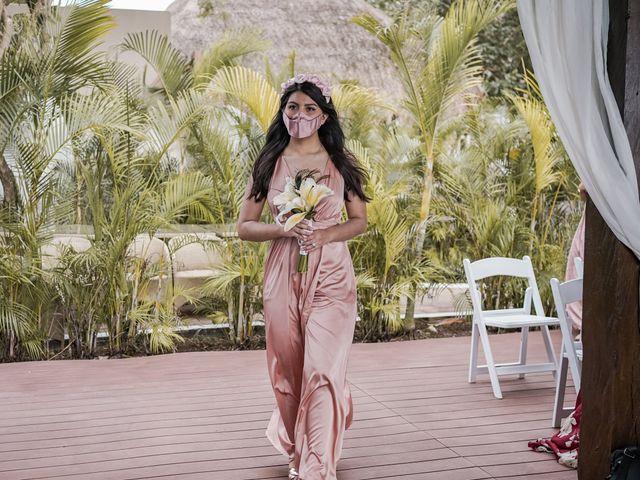La boda de Gustavo y Ariadna en Cozumel, Quintana Roo 21
