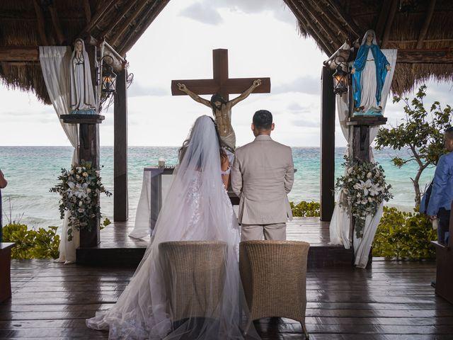 La boda de Gustavo y Ariadna en Cozumel, Quintana Roo 27