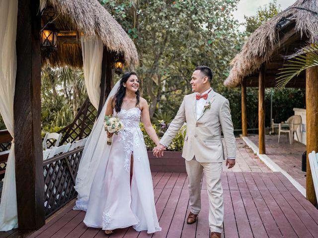 La boda de Gustavo y Ariadna en Cozumel, Quintana Roo 34
