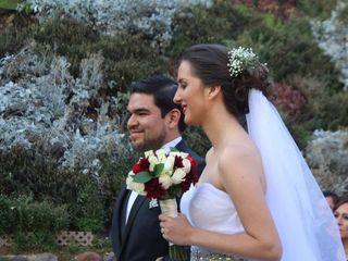 La boda de Geraldine y Missael
